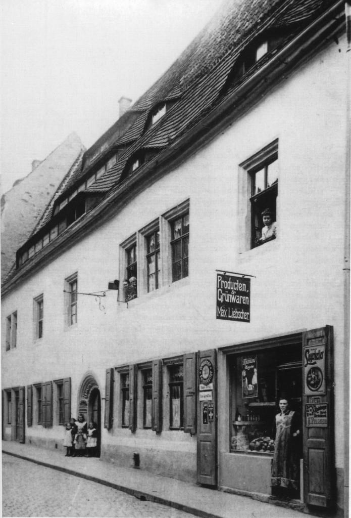 Tetzelhaus um 1910